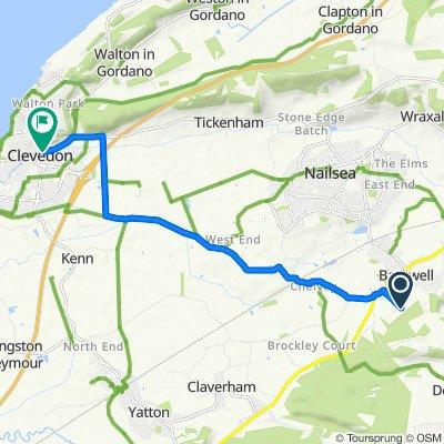 Sores Court, Hillside Road, Bristol to 1–7 Chapel Hill, Clevedon