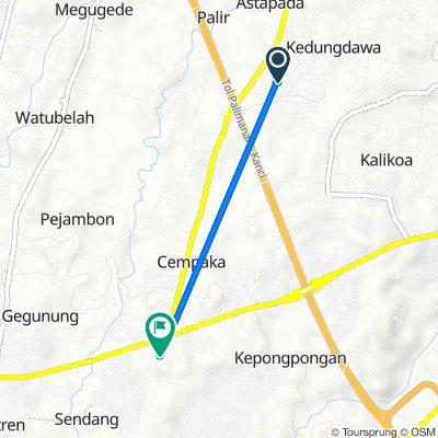 Unnamed Road, Kecamatan Kesambi to Jalan Ir. Soekarno 7, Kecamatan Talun