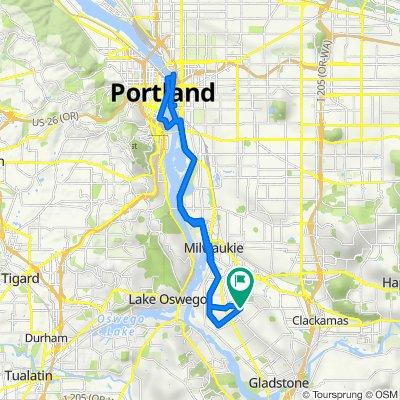 4109 SE Risley Ave, Portland to 4111 SE Risley Ave, Portland