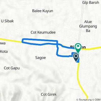 Jalan Raya Bireuen - Takengon, Kota Juang to Jalan Raya Bireuen - Takengon, Kota Juang