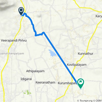 Unnamed Road to Coimbatore