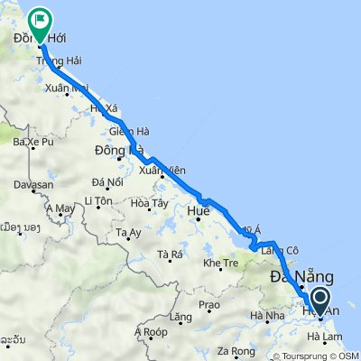 Biking from Hoi An to Dong Hoi with Best Hue City Tour Travel