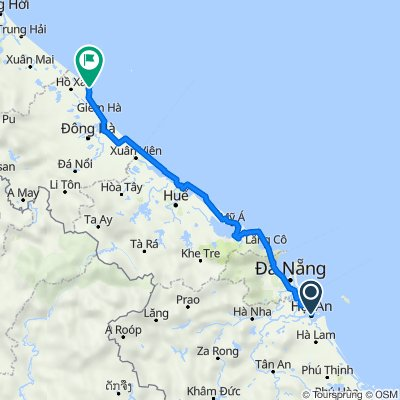 Remarkable route from Hoi An to Vinh Moc Tunnels