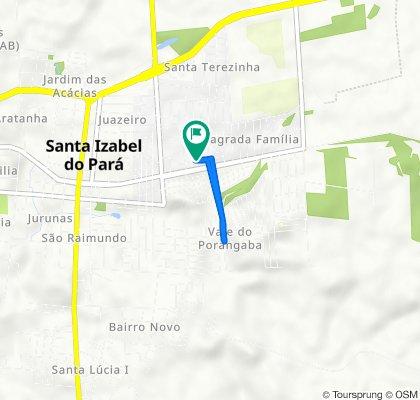 De Travessa Dom Manoel, 1191, Santa Isabel do Pará a Travessa Dom Manoel, 1191, Santa Isabel do Pará