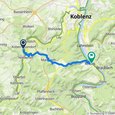 Obermarkstraße 51, Kobern-Gondorf nach Rhens
