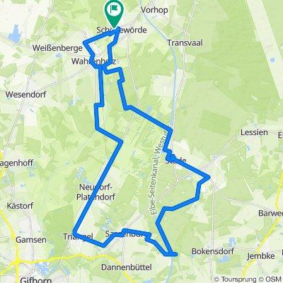 Bernsteinsee-Grußendorf-Triangel