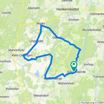 Wahrenholz-Weißenberge-KleinOesingen-Repke-Oerrel