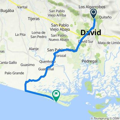 De Principal 3-78, David a Unnamed Road