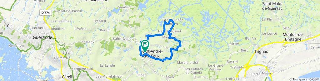 De 16 Rue du Parc au Ray, Saint-André-des-Eaux à 14 Rue du Parc au Ray, Saint-André-des-Eaux