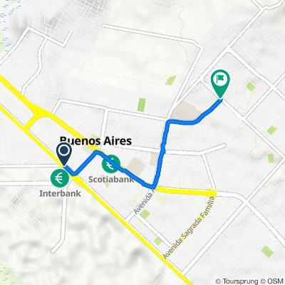 De Plaza Vea 101, Nuevo Chimbote a Senati, Chimbote