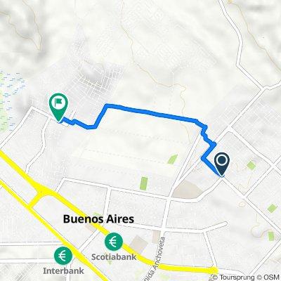 De Senati, Chimbote a Urb los Alamos, Nuevo Chimbote