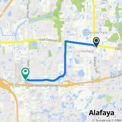De 11834 E Colonial Dr, Orlando a 9909 Twin Oaks Ln, Orlando