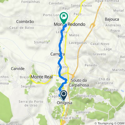 De Rua Joaquim Sousa 892, Ortigosa a Rua do Vale 21, Monte Redondo