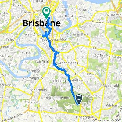 Mains Road, Nathan to Adelaide Street 333, Brisbane City