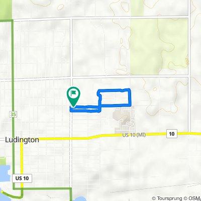 406 N Washington Ave, Ludington to 406 N Washington Ave, Ludington