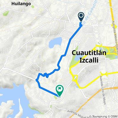 De Citlaltepec 5, Mexico City a Tejocotes 38, Cuautitlán Izcalli