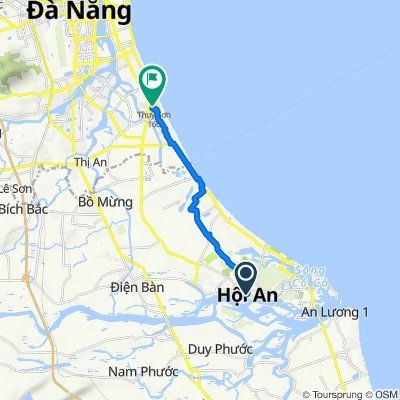 Fascinating route from Hoi An to Marble Mountains