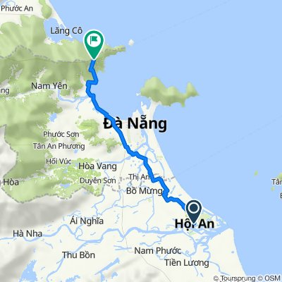 Cycling to Bach Ma National Park from Hoi An