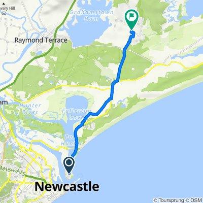 Macadamia Farm Newcastle Bike Trail (Perfect for E-bike)
