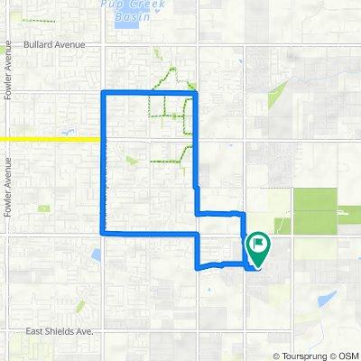 3483 El Dorado Ave, Clovis to 3483 El Dorado Ave, Clovis