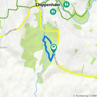 Pewsham Way, Pewsham, Chippenham to Pewsham Way, Pewsham, Chippenham