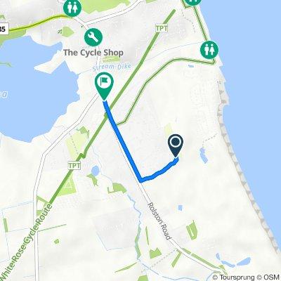47 Tansley Lane, Hornsea to St Julien, Southgate, Hornsea