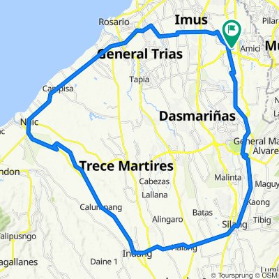 Unnamed Road, Imus to Unnamed Road, Imus