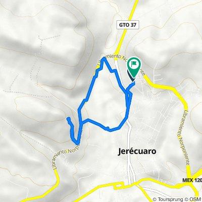 Ruta a José Alfredo Jiménez 5, Jerécuaro
