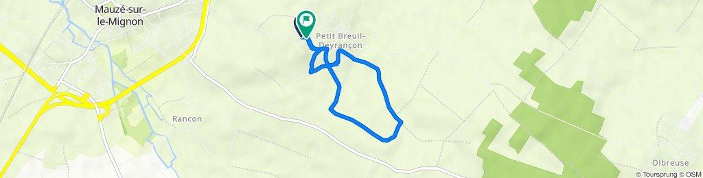 De 18 Route de Mauzé, Mauzé-sur-le-Mignon à 18 Route de Mauzé, Mauzé-sur-le-Mignon