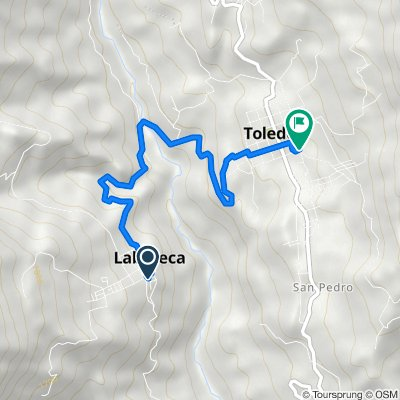De Carrera 3 30, Labateca a Carrera 3 11-49, Toledo