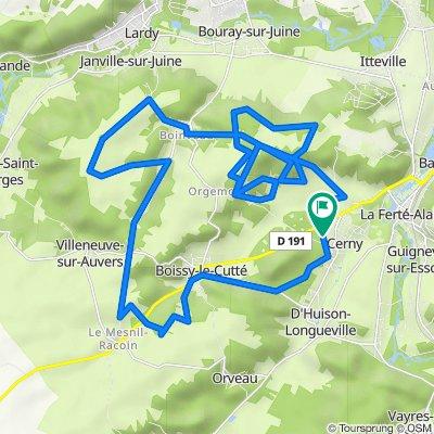 De 16 Chemin des Marats, Cerny à 10 Chemin des Marats, Cerny