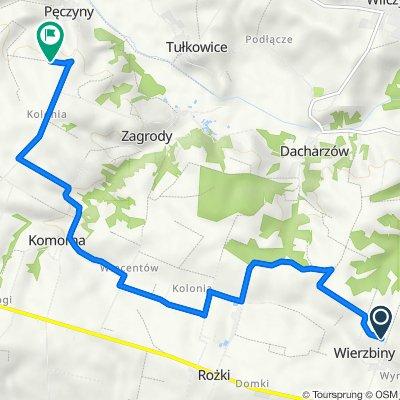Trasa z Wierzbiny, Obrazów