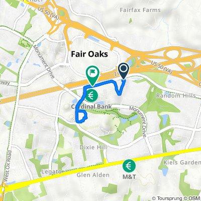 Summit Heights Way, Fairfax to 11950 Palace Way, Fairfax