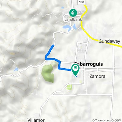Unnamed Road, Cabarroguis to Unnamed Road, Cabarroguis