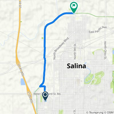 Commanche Avenue 820, Salina to 9th Street 1415, Salina