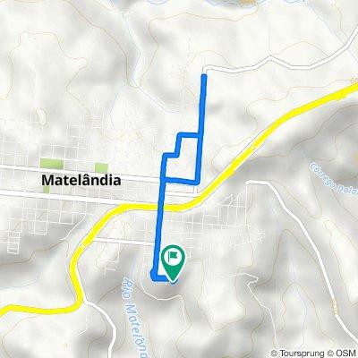 De Rua Minas Gerais, Matelândia a Rua Minas Gerais, Matelândia