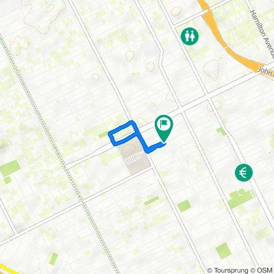 Edison Street 2434, Detroit to Edison Street 2434, Detroit