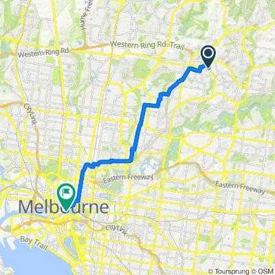 city route