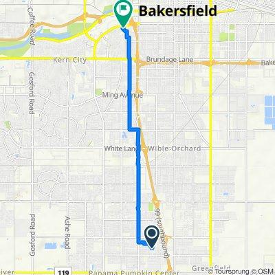 Vincenso Way 8602, Bakersfield to California Avenue 4001, Bakersfield