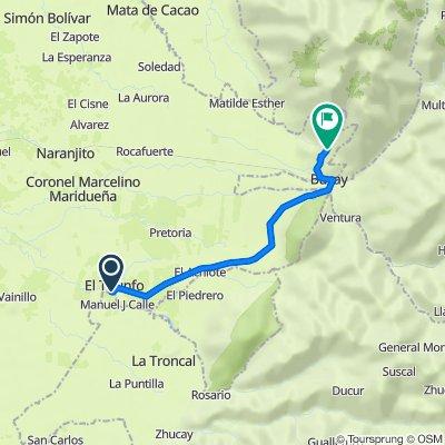 De Unnamed Road, El Triunfo a Camino a Cascada Piedra Blanca