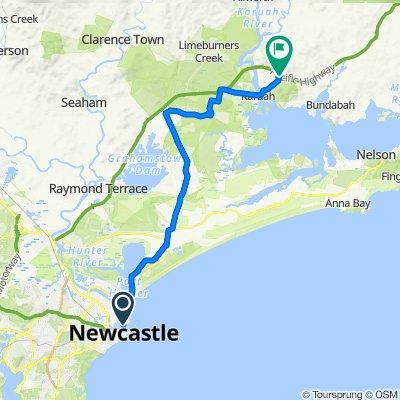 Newcastle-Highway Bike Trail (Perfect for E-bike)