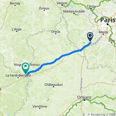 De Rue de Villevert, Bonnelles à 635 La Coispillère, Ceton