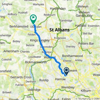 7–27 Brancker Road, Harrow to 48 Marlins Turn, Hemel Hempstead