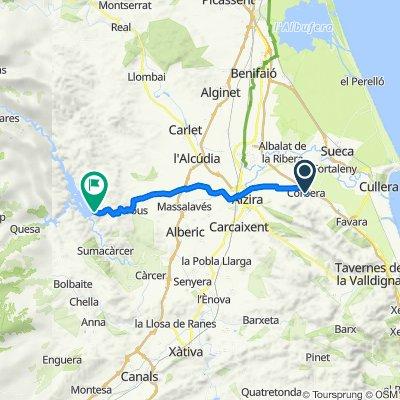 De Carrer del Duque de la Victoria 33, Corbera a Unnamed Road, Tous