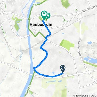 De 46 Rue de la Canteraine, Haubourdin à 40 Rue Pasteur, Haubourdin