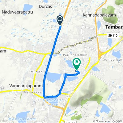 Chennai Outer Ring Road, Royappa Nagar to Balaji Nagar, Perungalathur