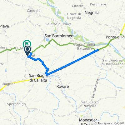 Da Via Paganini 14, Cavriè a Via Marche 60, San Biagio di Callalta