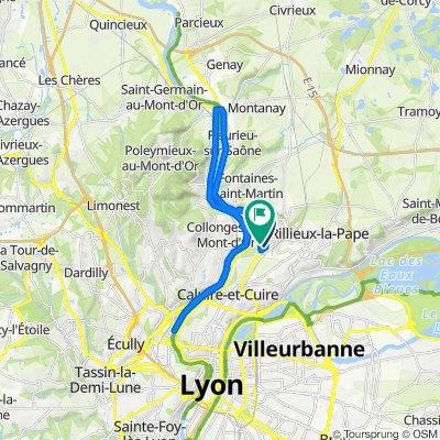 De 2bis Avenue des Bruyères, Fontaines-sur-Saône à 21 Avenue des Marronniers, Fontaines-sur-Saône
