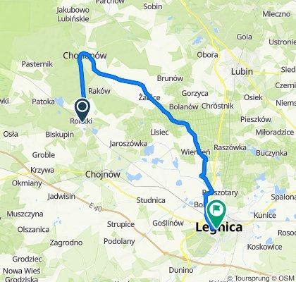 Rokitki - chocianów - Legnica
