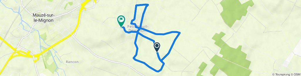 Itinéraire vers 18 Route de Mauzé, Mauzé-sur-le-Mignon